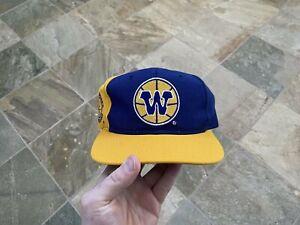 Vintage Golden State Warriors Sports Specialties Script Snapback Basketball Hat