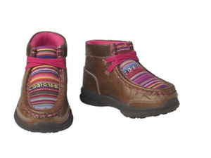 Ariat A443000502-07 Aurora LIL Stompers Toddler Casuals Boots - Brown