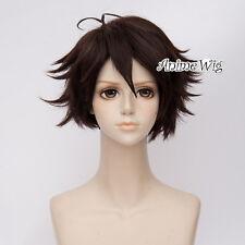 30CM Anime Haikyu Oikawa Toru Brown Short Layered Bangs Hair Party Cosplay Wig