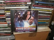 CHAIN REACTION,JERRY GOLDSMITH FILM SOUNDTRACK,KEANU REEVES