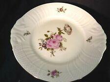 """Royal Copenhagen Denmark Frijsenborg Pattern Cake Plate Lug Handles 10 3/4"""" 1864"""