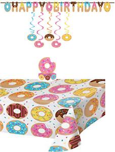 Donut Sprinkle Party Decoration Bundle