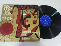 "Sealed Prokofiev Chout El Jester orquesta Colonne Paris 1959 - LP 12 "" vinyl G"