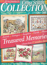 CROSS STITCH COLLECTION MAGAZINE  # 47 - COTTAGES - SEASIDE - FLOWERS - CARDS