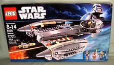 Lego Star Wars 8095 GENERAL GRIEVOUS STARFIGHTER Sealed Nahdar Vebb A4-D