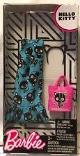 Barbie Hello Kitty Dress, headband, Purse Nrfp