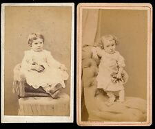 2 CDV c. 1870 - Enfants - T1004
