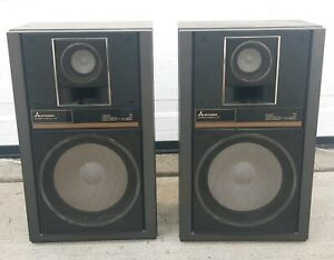 Mitsubishi SS-L70 Vintage Speakers (Pair) Good Condition