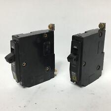 2 Lot Square D Qob120 Circuit Breaker 20A 1P 120/240Vac 22kA Qob Qob-120 20 Amp