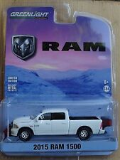Greenlight 2015 Dodge Ram 1500 Snow-Plow Pickup Truck 1:64 Scale Diecast Model
