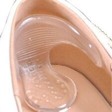 1 Pair Back Heel Cushion Clear Silicon Foot Care Protector Pad Insoles Shoe Pad