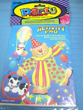 8 Party Activity Pads Favors Age 3 & Up Color Puzzles Mazes Word Search Games