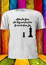King And Pawn Play Chess Tumblr T-shirt Vest Tank Top Men Women Unisex 1498