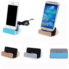 Data Sync Dock Station Stand Holder Mount Charger Cradle For Samsung S4 S5 S6