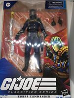 "🔥🐍🔥🐍🔥🐍🔥🐍🔥G.I. Joe Classified 6"" Action Figure Series 2 Cobra Commander"