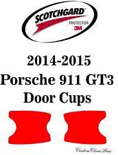 3M Scotchgard Paint Protection Film Clear Bra Pre-Cut 2014 2015 Porsche 911 GT3