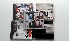 5 u2 cds ACHTUNG BABY, JOSHUA TREE, POP, WAR & ALL THAT YOU CAN'T LEAVE BEHIND
