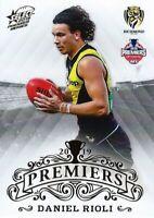 ✺New✺ 2019 RICHMOND TIGERS AFL Premiers Card DANIEL RIOLI - 14 of 25