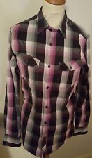 MEN'S STUNNING CHECK SHIRT BY TED BAKER SIZE M