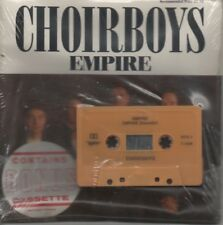 """CHOIRBOYS   Rare 1989 Aust Promo Only 7"""" Mint Sealed P/C Single + Tape """"Empire"""""""