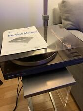 Philips AF 887 Turntable Record Player Hi-Fi (new cartridge + Original Manual)