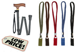 Universal Walking Stick WRIST CORD Wrist Strap Loop Walkers