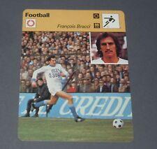 FOOTBALL 1977 OLYMPIQUE MARSEILLE OM VELODROME FRANCOIS BRACCI