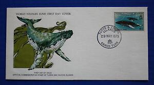 Turks & Caicos (384) 1979 Humpback Whale WWF FDC