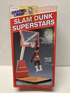 1989 Starting Lineup Chicago Bulls Michael Jordan Red Box Slam Dunk