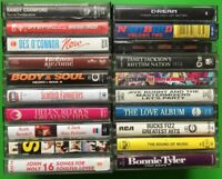 MIXED CASSETTE TAPE LOT 3 20 VARIOUS TAPES