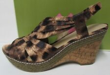 53d198f084eb Naturalizer Size 7.5 Wedge Sandals New Womens Shoes