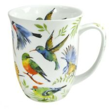 Kaffee – Teetasse Zwitscherlaune Vogelmotiv Becher von Maass New Bone China
