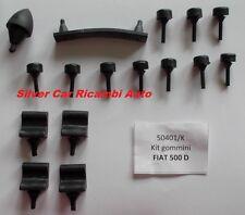 Kit gommini Fiat 500 D - Giardiniera