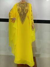 DUBAI ARABIAN MOROCCAN KAFTANS ABAYA FARASHA DRESS FANCY LONG OWN MS 2020