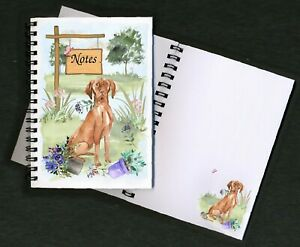Hungarian Vizsla Dog Notebook/Notepad + small image on every page by Starprint