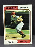 1974 Topps  #300 PETE ROSE  Cincinnati Reds Near Mint NM