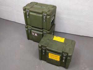 British Army - Military - Heavy Duty Lockable Equipment Storage Case Tool Box