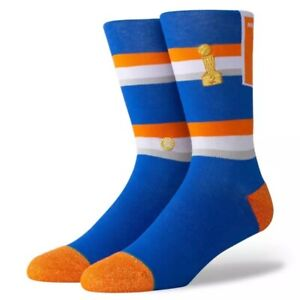Stance x NBA New York Knicks 'Knicks Banner' | Size L | Crew | New With Tags