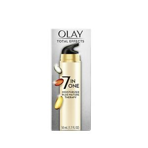 Olay Total Effects Face Moisturizer Plus Mature Therapy, 1.7 fl oz