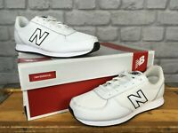 NEW BALANCE UK 5.5 EU 38.5 WHITE LEATHER MESH TRAINERS CHILDRENS LADIES J