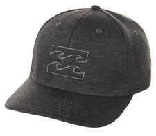 Tag Billabong Mens Boys All Day L-xl Curved Peak Flexfit Cap Hat Graphite 5c4fbb8399ab