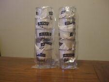 10 acrylic Smirnoff Whipped cream flavored vodka shot glasses,New, hard plastic.