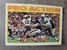 1972 Topps Roger Staubach In Action, Dallas Cowboys, HOF, Nice Card.