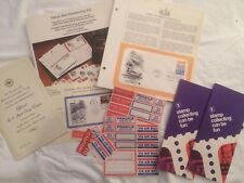 First Day Membership Kit, Advertising, Stamp Collecting Can Be Fun, Moon Landing