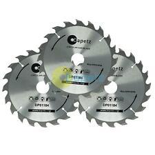 3 x Circular Saw Blades 235mm Dia 24 40 & 48 teeth 30mm bore TCT Saw Disc Wood