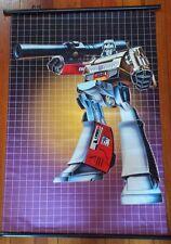 """TRANSFORMERS """"MEGATRON - G1"""" 60cm X 90cm ANIME CLOTH WALL SCROLL DECEPTICON"""