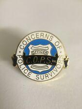 Concerns of Police Survivors (C.O.P.S.) Metal & Enamel Lapel Pin