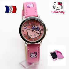 Montre Enfant Hello Kitty Rose dans écrin M2