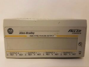 Allen Bradley 1794-OF4I FLEX I/O Isolated Analog Output 1794-0F4I 96406471