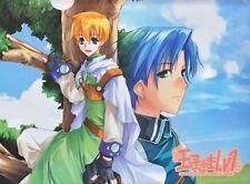 Oujisama Lv1 - Clearfile Clear File Folder - BL Yaoi Game Art Alice Blue